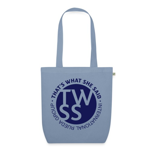 TWSS logo - That's What She Said - International - Bio-Stoffbeutel