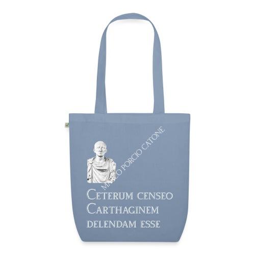 Antica Roma Giulio Cesare e Catone - Borsa ecologica in tessuto