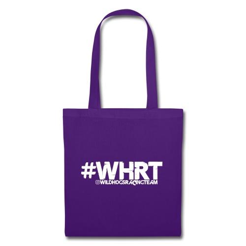 WHRT Classic White - Stoffbeutel