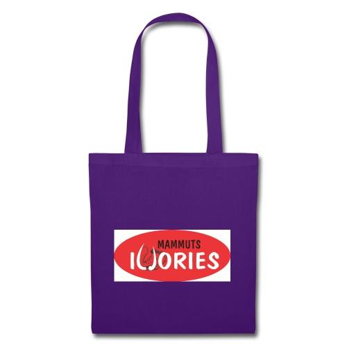 P Ivories Logo - Stoffbeutel