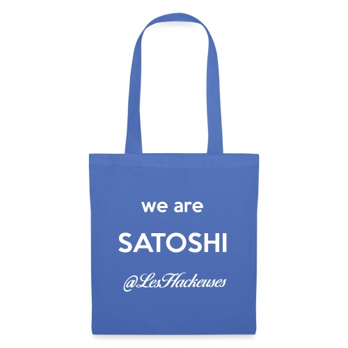 we are satoshi - Tote Bag