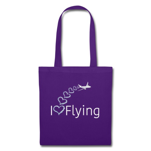 I love flying wit3 - Tote Bag