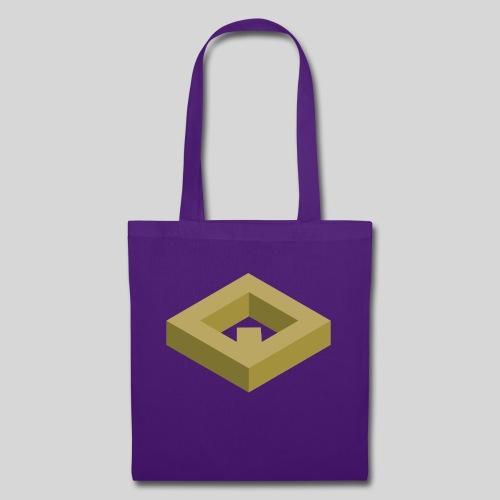 White Drawstring Bag v1 - Borsa di stoffa