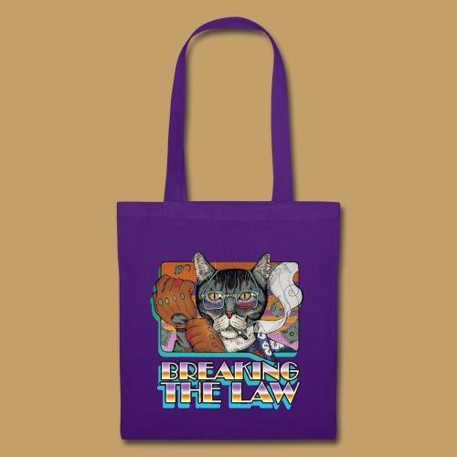 Crime Cat- Breaking the Law - Torba materiałowa
