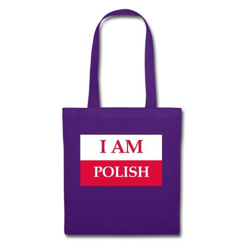 I am polish - Torba materiałowa