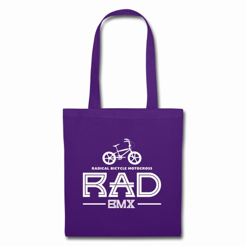 BMX Rad Radical Bicycle Motocross 80's Bmx Bike - Tote Bag