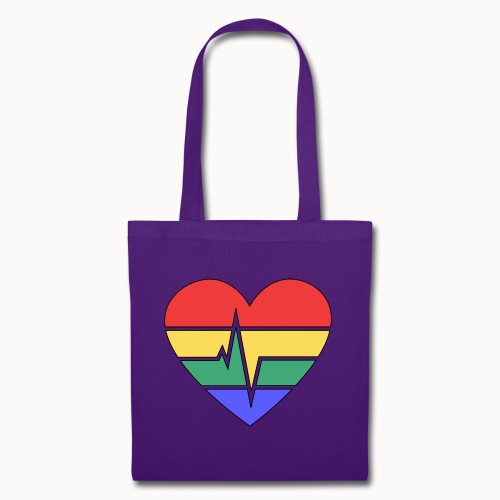 Rainbow Heart - Tote Bag