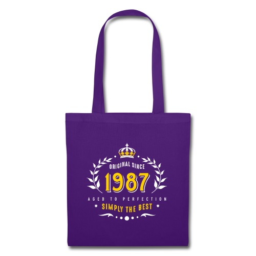 original since 1987 simply the best 30th birthday - Tote Bag