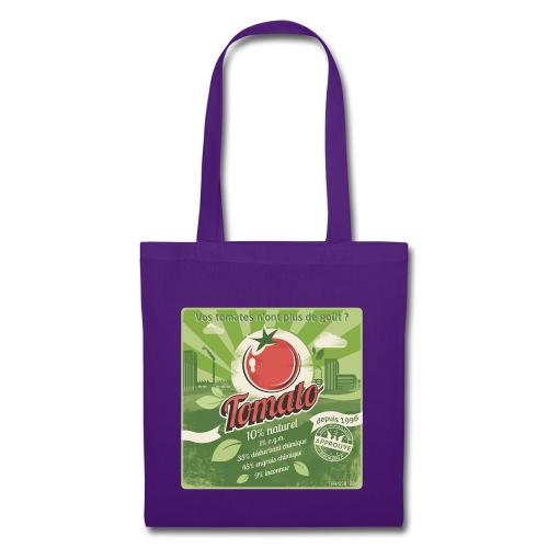 T-SHIRT près du corps homme europabio tomato - Tote Bag
