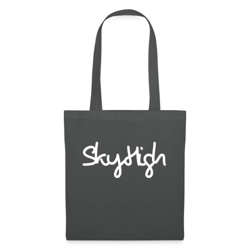 SkyHigh - Men's Premium Hoodie - White Lettering - Tote Bag