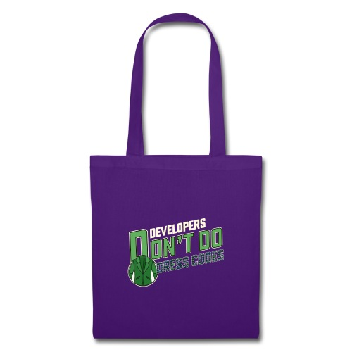 Developers don't do dress codes - Tote Bag