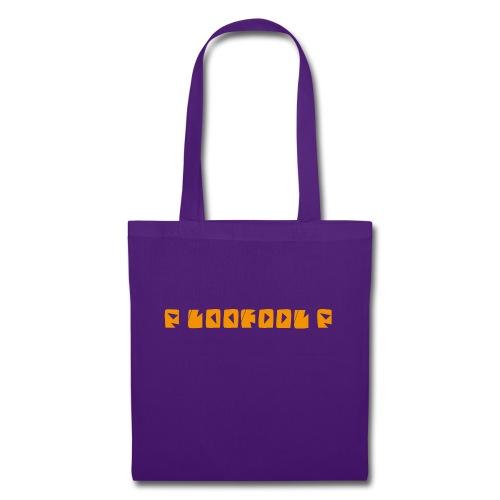 P loofool P - Orange logo - Stoffveske