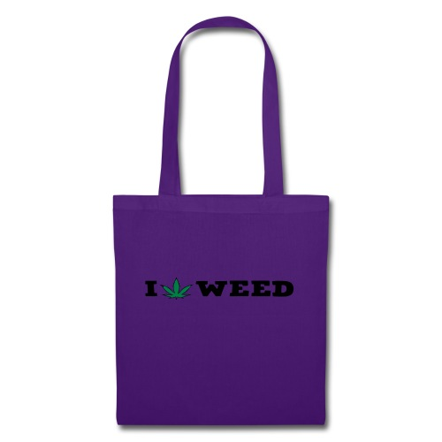 I LOVE WEED - Tote Bag