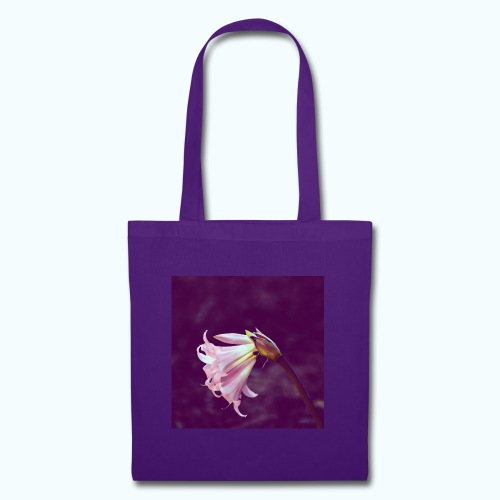 Flower At Night Watercolor Minimalism - Tote Bag