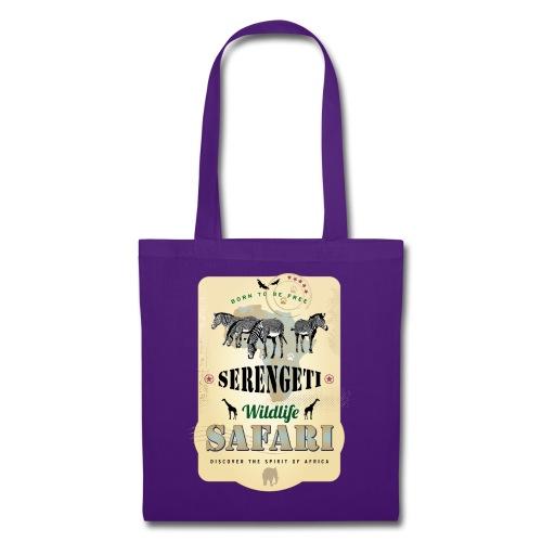 Zebras Wildlife Safari Serengeti Afrika Abenteuer - Tote Bag