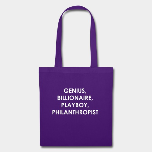 Genius Billionaire White - Tote Bag
