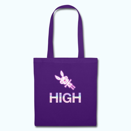 Funny hare drawing - Tote Bag