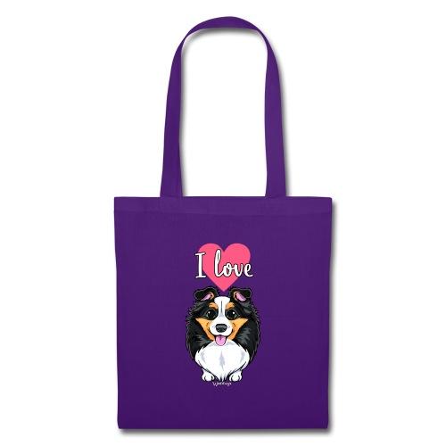 Sheltie Dog Love - Tote Bag