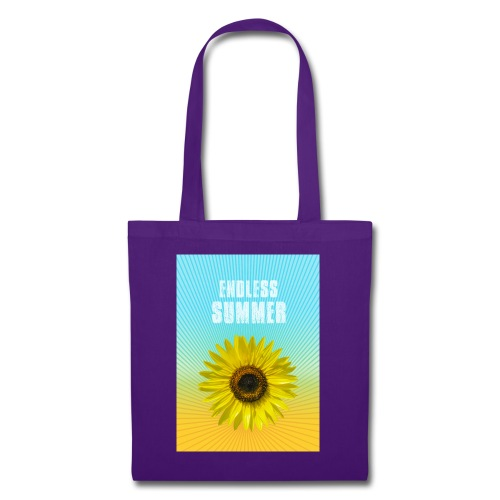 sunflower endless summer Sonnenblume Sommer - Tote Bag