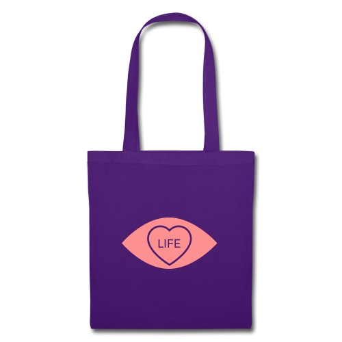 White Eye Love... Life Accessories - Tote Bag