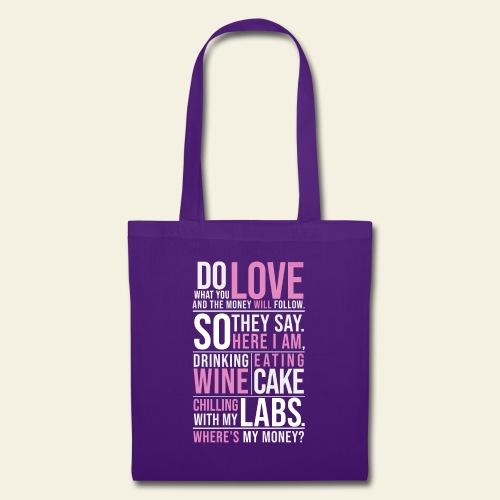 Wine, Cake, Labs - Kangaskassi