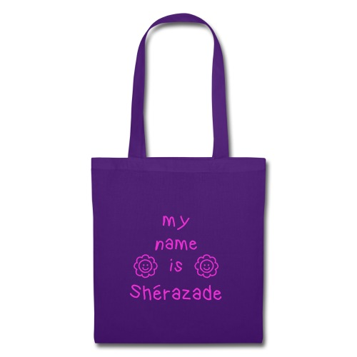 SHERAZADE MY NAME IS - Tote Bag