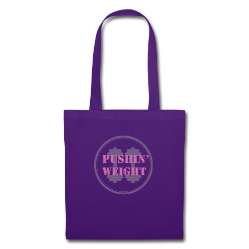 Pushing Weight pink - Tas van stof
