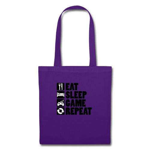 Eat Sleep Game Repeat - Mulepose