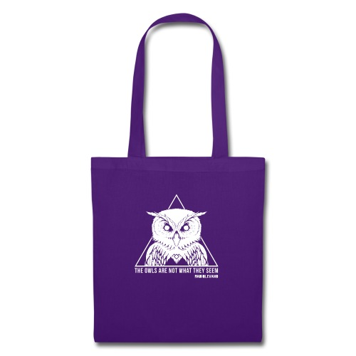 THE OWLS ARE NOT WHAT THEY SEEM - RADIOLEVANO - Borsa di stoffa