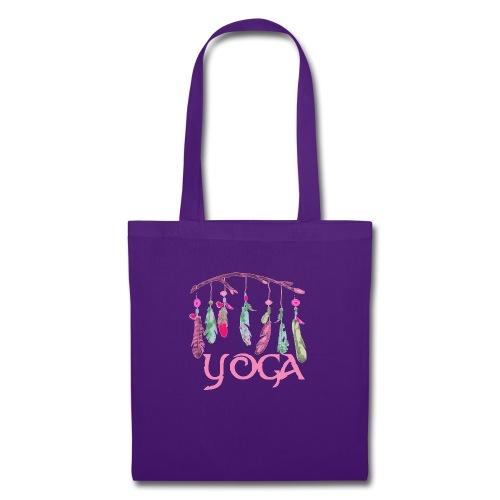 yoga plumes - Tote Bag