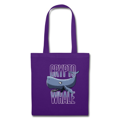 Crypto Whale Funny Cryptocurrency - Stoffbeutel