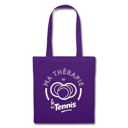 Ma therapie le tennis - Tote Bag