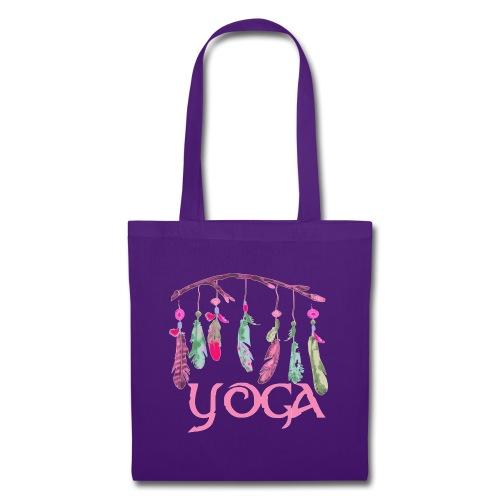 yoga plumes - Borsa di stoffa