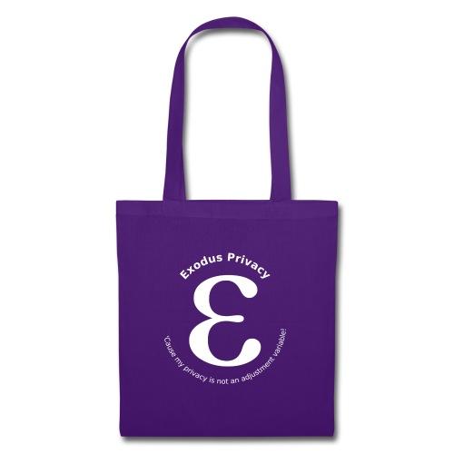 Exodus privacy avec Logo et slogan - Tote Bag