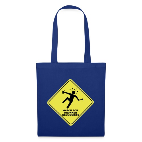 watch for drunken geologists english l - Tote Bag