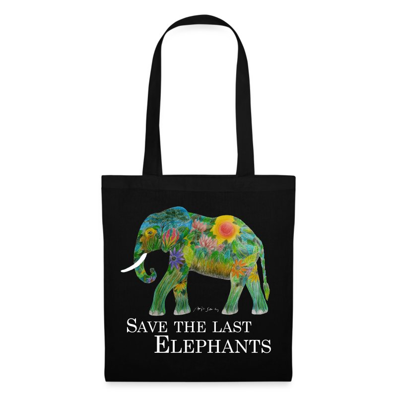 SAVE THE LAST ELEPHANTS - Stoffbeutel