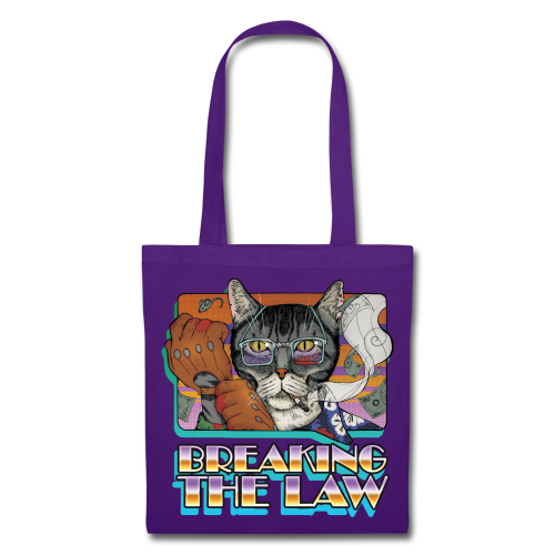 Crime Cat- Breaking the Law - Torba materiałowa