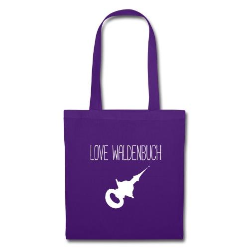 Love Waldenbuch - Weiss - Stoffbeutel