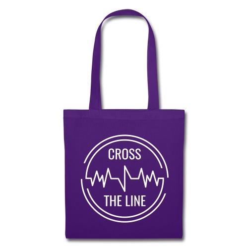 CROSS THE LINE - Accessoires blanc - Tote Bag