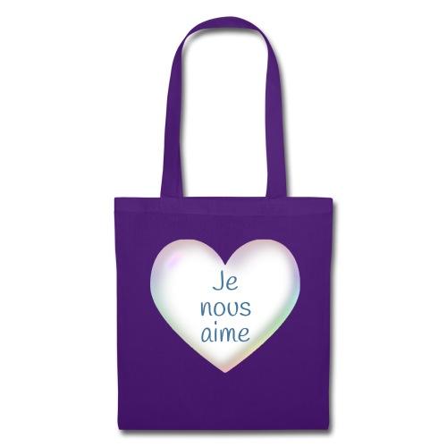 Je nous aime - Tote Bag