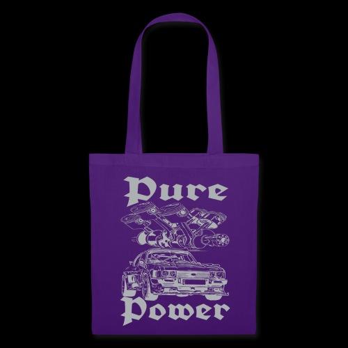Pure Power V6 Grau - Stoffbeutel