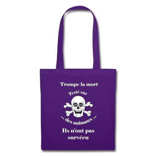 Trompe la mort «rieur» Test animal FS - Tote Bag