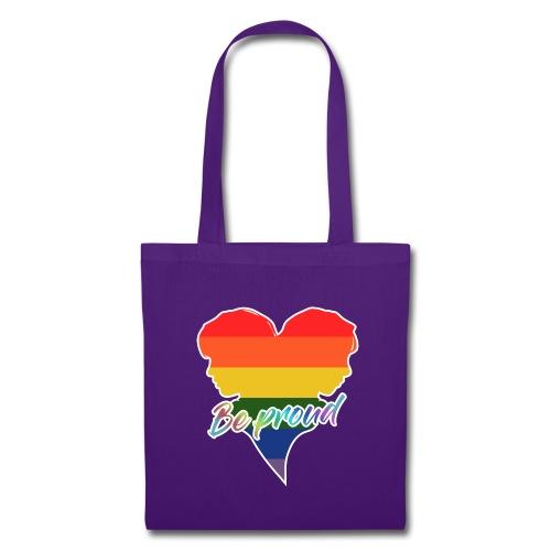 Orgullo, be proud - Bolsa de tela