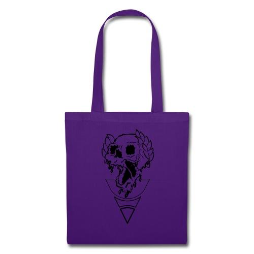 crownded skull - Tote Bag