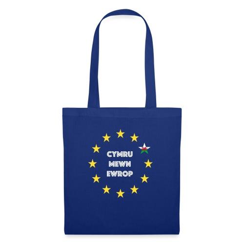 Cymru Mewn Ewrop - Tote Bag