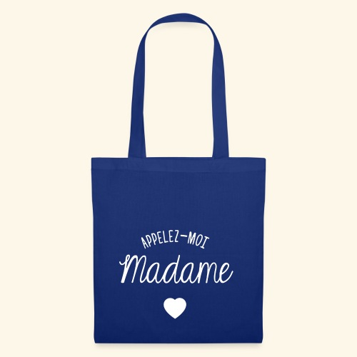 SWEAT APPELEZ MOI MADAME - Tote Bag