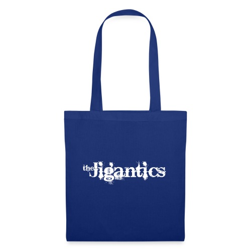 The Jigantics - white logo - Tote Bag