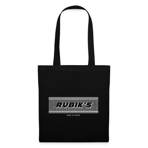 Rubik's Cube Vintage Logo - Tote Bag