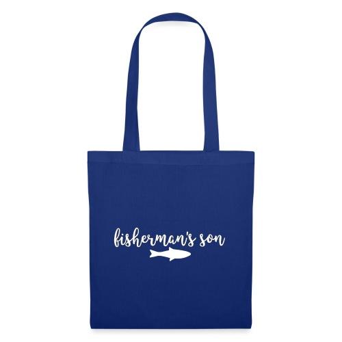fisherman's son - fishingshirt - Stoffbeutel