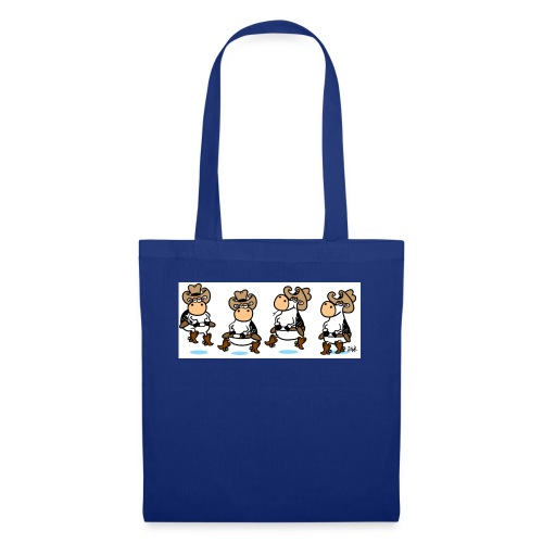 Line Dancing Cows - Tote Bag